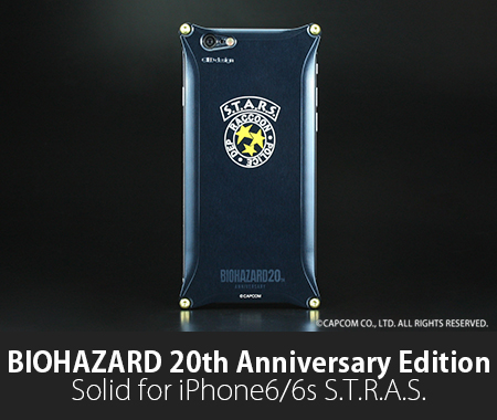 BIOHAZARDコラボケース Solid for iPhone6/6s S.T.A.R.S.